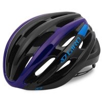 Giro Foray Helmet 2017 - Black/Blue/Purple