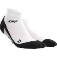 CEP Dynamic+ Cycle Low Cut Women's Socks - White/Black