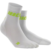 CEP Dynamic+ Cycle Ultralight Short Women's Socks - White/Green