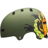 Bell Local Helmet 2018 - Matte Grenade Octobeast