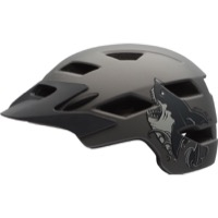 Bell Sidetrack Youth Helmet 2018 - Matte Titanium Shark
