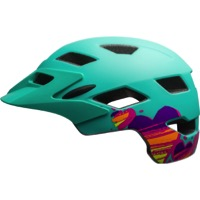 Bell Sidetrack Child Helmet 2017 - Matte Mint Hearts