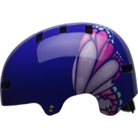 Bell Span Youth Helmet 2018 - Purple/Pink Glide