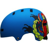 Bell Span Youth Helmet 2018 - Matte Force Blue Octobeast
