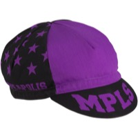 All-City Let's Go Crazy Cycling Cap - Purple