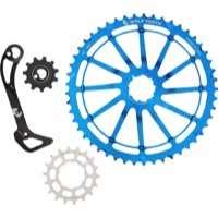 Wolf Tooth Components GC 49 Cog/WolfCage Bundles - 11 Speed Shimano