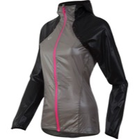 Pearl Izumi Pursuit Barrier LT Hoody - Black/Monument Gray