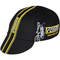 Pace Pedros Cycling Cap - Black/Yellow