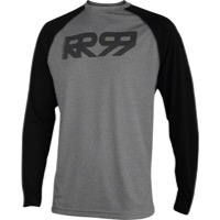 Royal Core LS Jersey - Ash/Black