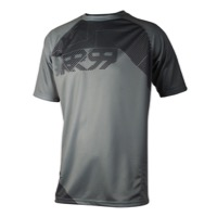 Royal Matrix SS Jersey - Ash Grey/Charcoal