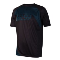 Royal Matrix SS Jersey - Black/Electric Blue