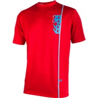 Royal Altitude SS Jersey - Red/Electric Blue/White