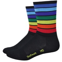 "DeFeet AirEator 5"" World Champion Socks - Rainbow"