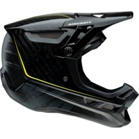 100% Aircraft Carbon Full Face MIPS Helmet - Raw Black