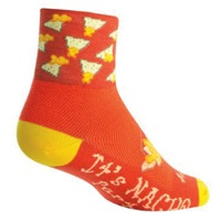 SockGuy Nacho Socks - Orange