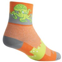 SockGuy Squid Socks - Orange