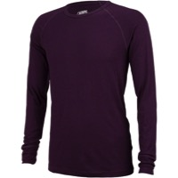 Surly Merino Wool Long Sleeve Raglan Shirt - Plump Purple