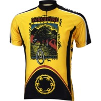 World Jerseys Moab Porcupine Pilsner Jersey - Gold/Black