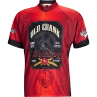 World Jerseys Old Crank Whiskey Jersey - Brown/Black