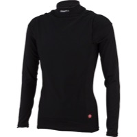 Craft Active Wind Stopper LS Crew Base Layer Top - Black