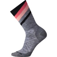 Smartwool PhD Ultra Light Women's Pattern Socks - Light Gray