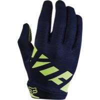 Fox Racing Women's Ripley Full Finger Gloves 2017 - Navy/Yellow