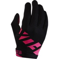 Fox Racing Women's Ripley Full Finger Gloves 2017 - Black/Pink
