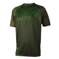 Royal Matrix SS Jersey - Olive/Grass