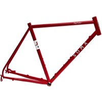 Soma Fog Cutter Road Frame - Rosso Red