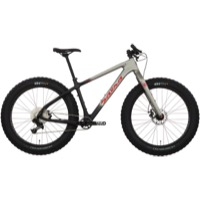 Salsa Beargrease Carbon NX1 Complete Bike 2017 - Raw Carbon/Gray Fade