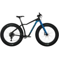 Salsa MukLuk Carbon XO1 Complete Bike 2017 - Black/Blue