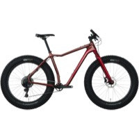 Salsa MukLuk Carbon GX1 Complete Bike 2017 - Red/Dark Red