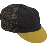 All-City Midwest Cycling Cap - Gold/Black