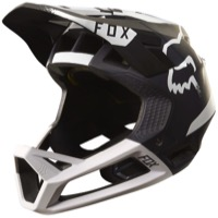 Fox Racing Proframe MIPS Helmet 2017 - Moth Black/White