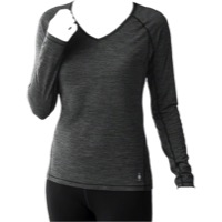 Smartwool PhD Ultra Light Long Sleeve T-Shirt - Charcoal