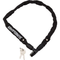 "Kryptonite Keeper 4mm Keyed Chain Lock - 25.6"", or 43"""