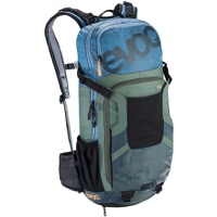 EVOC FR Enduro Team Protector Backpack - Copenhagen Blue/Olive/Slate
