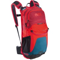 EVOC Stage 12 Backpack - Petrol/Red/Ruby