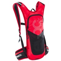 EVOC CC 3 Race + 2L Hydration Pack - Red/Black
