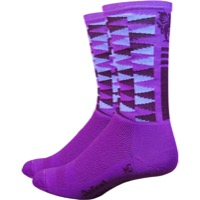 "DeFeet Aireator 6"" Mad Alchemy Socks - Snozberries"