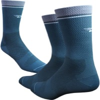 "DeFeet Levitator Lite 5"" Socks - Metal/Grey"