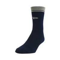 "DeFeet Levitator Lite 5"" Socks - Navy/Grey"