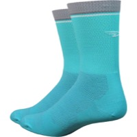 "DeFeet Levitator Lite 5"" Socks - Neptune/Grey"