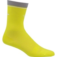 "DeFeet Levitator Lite 5"" Socks - Sulphur/Grey"