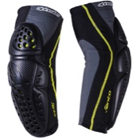 Alpinestars Vento Elbow Guards - Black/Acid Yellow