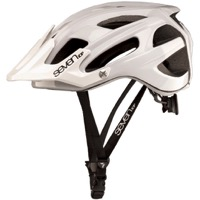 7iDP M-4 Helmet - Gloss White/Black
