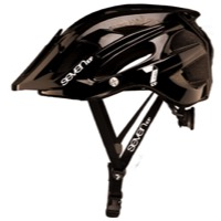 7iDP M-4 Helmet - Gloss Black/White