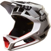 Fox Racing Proframe Full Face Helmet - Moth White/Black/Red
