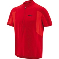 Louis Garneau Connection Men's Jersey - Barbados Cherry/Flame