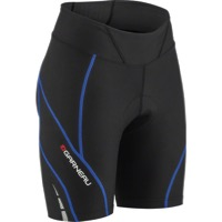 Louis Garneau Neo Power Motion 7 Women's Shorts - Black/Dazzling Blue